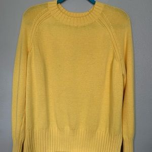 Yellow Old Navy Sweater